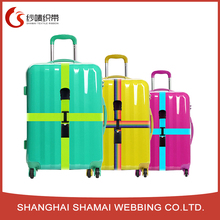 Custom adjustable travel luggage fasten suitcase baggage luggage belt