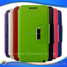 new design flip tpu pu leather wallet covers for Lenovo RocStar A319