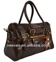The most fashionable brand handbag made of pu