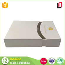 High end custom printing luxury wedding invitations card gift box