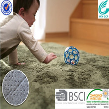 comfortable 100% polyester microfiber children floor mat
