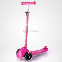 new 3 PU wheels mini kick kids scooter with adjustable height and aluminum T-bar