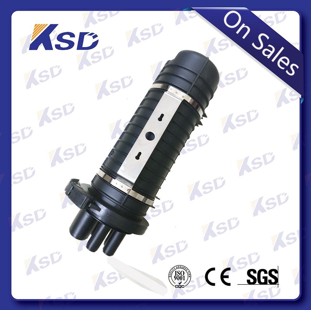Optical fiber cable accessories 24 core fiber optic splice closure