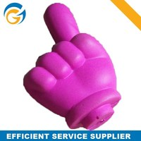 Hotselling PU Squeeze Toys Finger Stress Ball