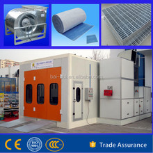 Automotive spray paint booth with CE