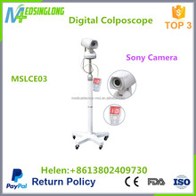Portable digital colposcope with sony camera/colposcope for gynecology MSLCE04