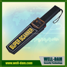 Most Economical portable hand held metal detector md-3003b1,super scanner hand held metal detector