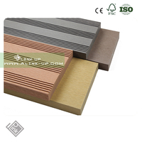 WPC Flooring Wood Plastic Composite Water proof Interlocking Composite Decking