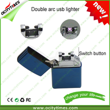 top quality lighter electronic arc lighter double arc china wholesale with good quality