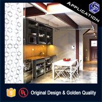 Decor kitchen stainless steel screen room divider