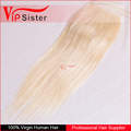 Vipsister Hair Top sale blonde human hair extensions, cuticle aligned remy brazilian hair color 613 virgin hair unprocessed