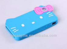 Charming Hello kitty pattern Silicone Phone case for Iphone 4/ 4S