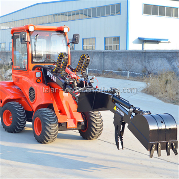 small tractors prices mini traktor 4x4 small tractor DY620 front loader