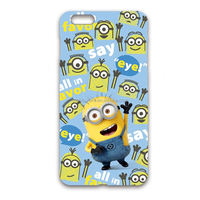 colorful minions phone case for children