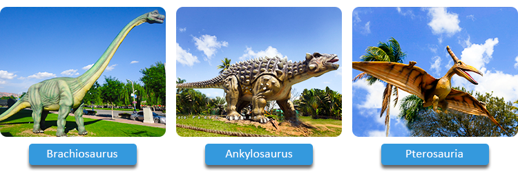 KANO1511 Dinosaur Park Attractive Lifelike Dinosaur For Sale