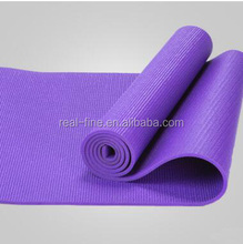 fitness products Yoga mat manufacturer supply 6 MM PVC plain color yoga mat