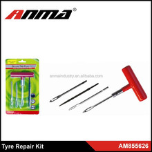 Auto Car Tubeless Tyre Puncture Repair Kit Tool Tire Plug