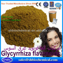 Best Price Licorice flavonoids powder Raw material natural
