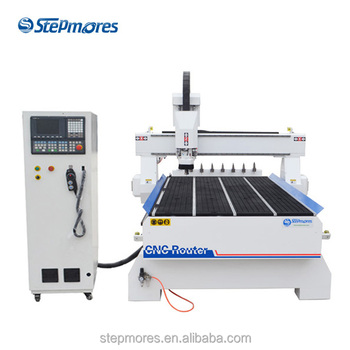 China Manufacturer automatic cnc router woodworking machine furniture door making atc wood cnc router 1325