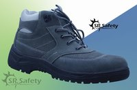 SRSAFETY best selling high quality with low price suede leather working safety shoes