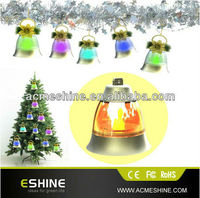 wireless motion sensor doorbell /Colorful bell christmas light