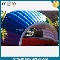 2015 newest design florid inflatable party tunnel tent for launch event,wedding