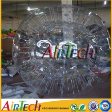 Football inflatable body zorb ball