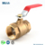 No Lead Ball Valve with Thread Ends
