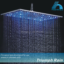 LED high pressure shower head