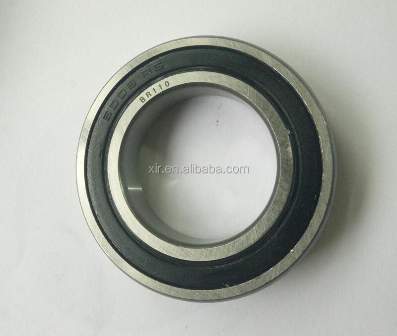 Deep groove ball bearing 6008-2RS chrome steel bearing ABEC-1