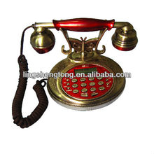 Antique old fashion telephone, CID Telephone, with basic functions & features.
