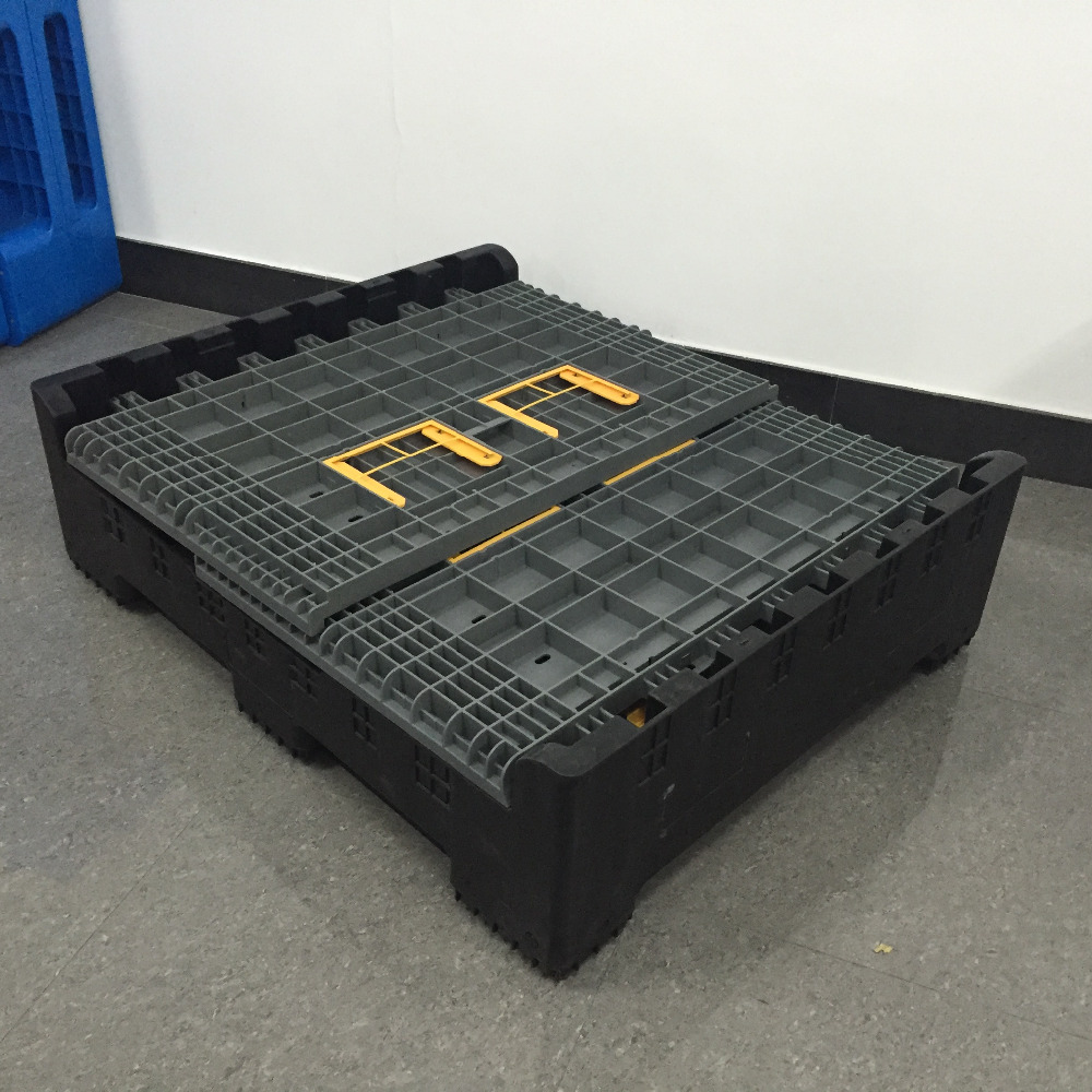 industrial Large storage solid stacking boxes size and price