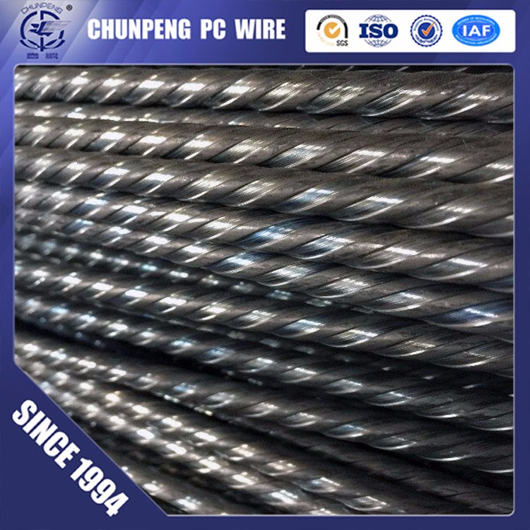 Chinese Direct Sale ASTM A416 9.53mm PC Strand Prestressed Concrete Wire Strand