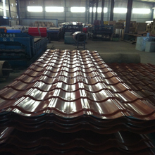2016 Metal MaterialTrapezium Glazed Rooofing Sheet for mobile homes, roof, walls, and interior and exterior decoration
