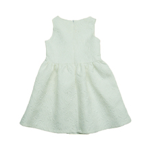 Girl Nice Elegant Flower Jacquard Party Dress