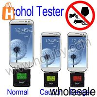 IPega Alcohol Tester LCD Backlight Screen Breath Analyzer for Samsung GalaxyS3 I9300 S4 i9500 N7100 HTC One M7 X Sony L36h Etc