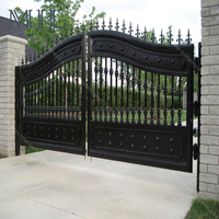 Best Quality Simple Indian House Steel Main Gate Designs Exterior Wrought Iron Gate