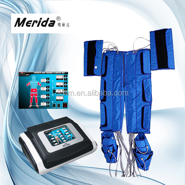 Fat Burning suit with Air pressure massage therapy machine