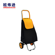 New Style Cheap Folding Shopping Cart Bag With 2 Wheels