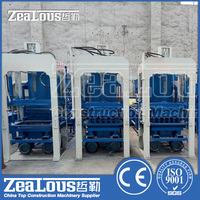 Small scale clay brick plant vacuum extruder for auto concrete block making machine price list, brick making machine