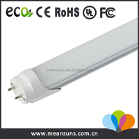 Energy-saving 18W 4ft Rotating End Cap T8 Led Tube, led tube 3 years Warranty