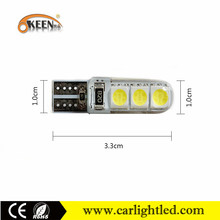 Newest LED T10 Canbus Error Free Width Lamp Read Bulbs 194 501 Automotive Dome Lighting White Car Lights