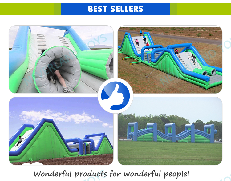 NEVERLAND TOYS inflatable 5K Obstacle Course,Insane sports 5K inflatable obstacle course game ,inflatable 5K Obstacle Course Run