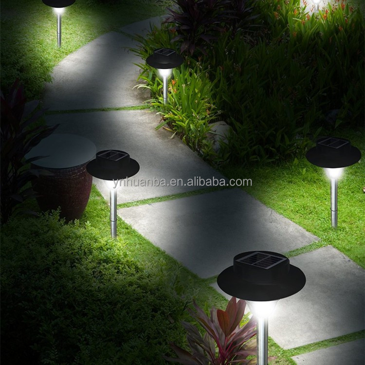 fancy garden decoration solar light led solar landscape lamp
