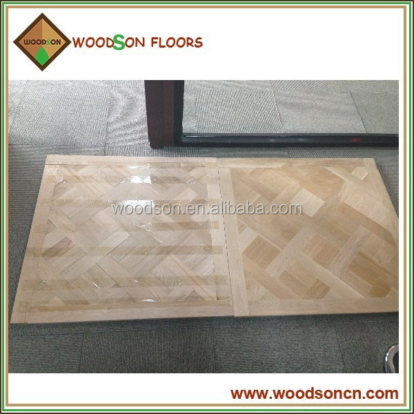 Selected Oak Versailles Solid Wood Parquet Flooring