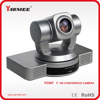 HD 1080p super zoom digital auto tracking video conference camera YC547-YARMEE