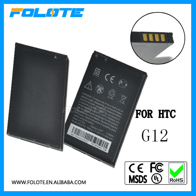 Original Battery For HTC G12 G11 Incredible S S710e G12 Desire S S510e Google BG32100 PDA Desire Z A7272 BG32100
