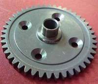 large diameter forged steel spur gear