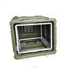 Tricases China factory OEM/ODM shockproof watertight Roto Shock Rack case 6U for devices