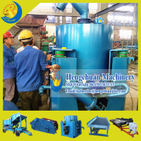 Chinese Low Price Automatic Discharge Fluid Bed Gold Concentrator for Sale